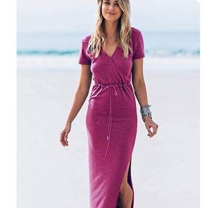 👁👌Women's Short Sleeve Maxi Dress w pockets